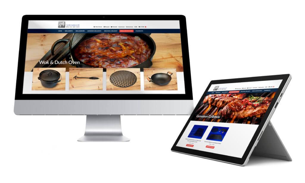 Online Shop Referenz B2C Einzelhandel